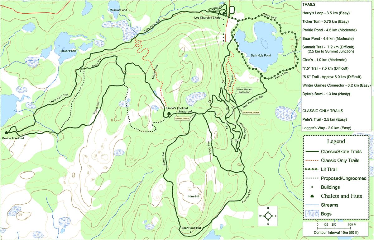 chemins de randonnées Clarenville